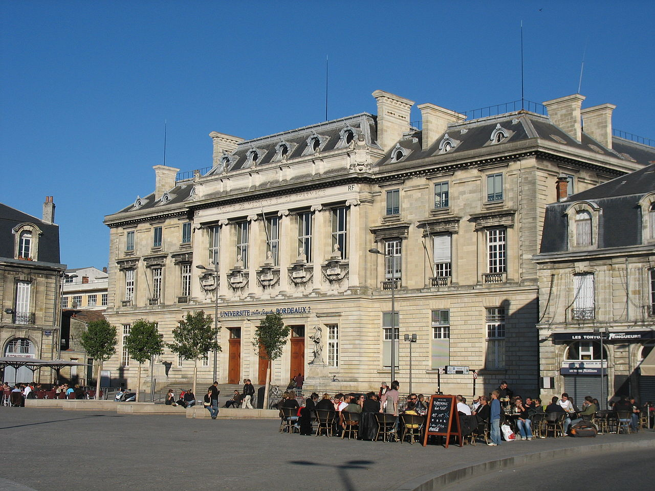 L'Université Bordeaux II
